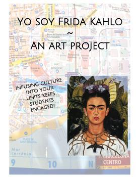 """""""Yo Soy Frida Kahlo"""" Art Project"""
