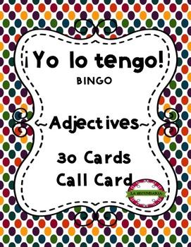 ¡Yo lo tengo! - Adjectives