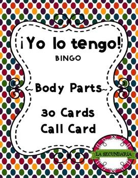 ¡Yo lo tengo! - Body Parts