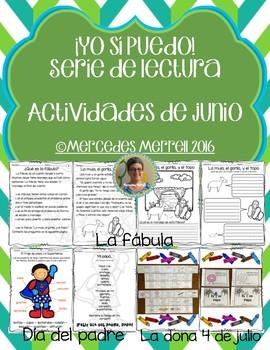¡Yo sí puedo! Serie de lectura  Actividades de JUNIO/JULIO Grados 1-3