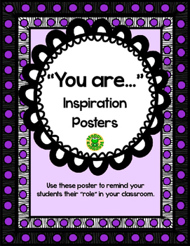 """You Are"" Inspirational Posters"