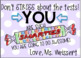 """""""You Are Smarties"""" End of the Year Student Motivation Cards"""