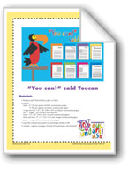 'You Can!' said Toucan (Bulletin Board)