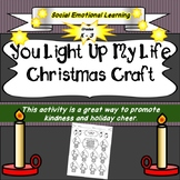 'You Light Up My Life' Lightbulb Christmas Craft- Printabl