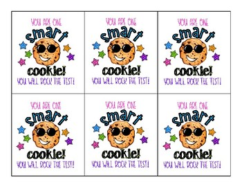 """""""You are one SMART COOKIE"""" testing tags"""