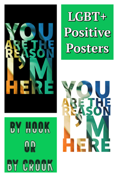 Safe Space LGBT+ Positive Classroom Poster