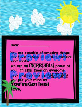 """""""You've Got This!"""" Letters of Encouragement to Your Students1"""