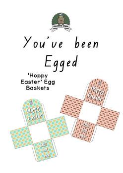 'You've been EGGED' - Hoppy Easter Egg Baskets