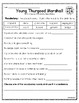 """""""Young Thurgood Marshall"""" Activities for Reading, Writing, & Comprehension"""