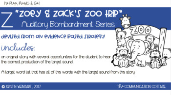 Z/ Initial Position Coloring Book; Auditory Bombardment | TpT