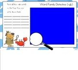 (-ab) Word Family Detective for the Smart Board