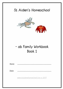 -ab Word Family Workbook