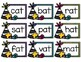 Short A (ab, at) Family Families Word Work / Sensory Bin