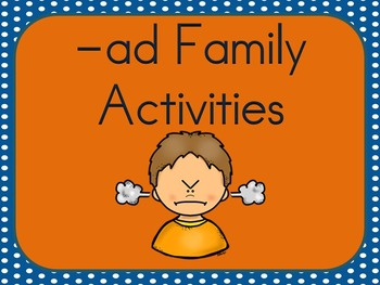 -ad Family Activities