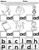 -ad Word Family Worksheets