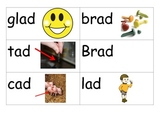 -ad word study picture cards
