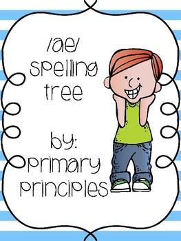 /ae/ Spelling Tree