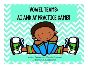 -ai and -ay Vowel Team Games