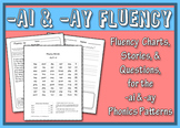 Ai Ay Word Family Fluency Bundle: Charts, Stories & Comprehension