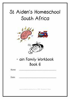 -ain Word Family Workbook