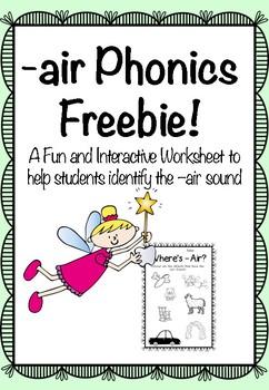 -air Phonics Freebie