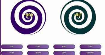 -air vs -are SMARTboard activity
