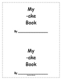 -ake Word Family Book