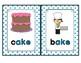 -ake Word Family Cards