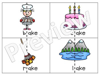 ake Word Family Pack {Differentiated Spelling Activities}