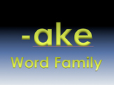 -ake Word Family Powerpoint
