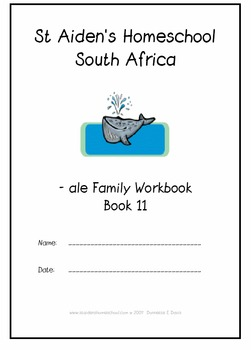 -ale Word Family Workbook