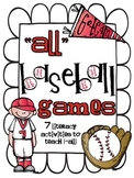 {-all} Baseball Games: 7 Literacy Activities to Teach Variant Vowel O