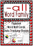 -all Word Family Flipbook, Word Wall Cards and Data Tracking Sheets!ll