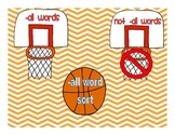 -all Word Sort