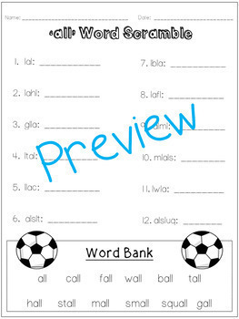 Variant Vowel /O/ (all)- A Week of Lessons and Activities! Just click and print!