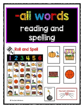 -all words reading and spelling activities
