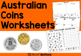 Australian Coins Worksheets