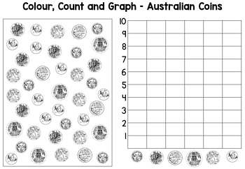 australian coins worksheets by bright buttons teachers pay teachers. Black Bedroom Furniture Sets. Home Design Ideas