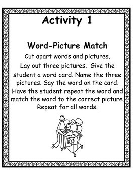 -am Word Family  Leveled Activities