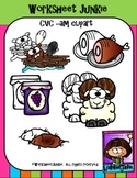-am word family clipart