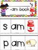 -am word family flip book