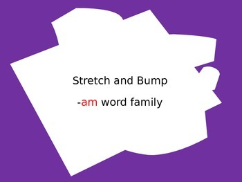 -am word family ppt