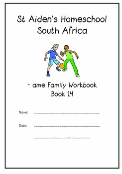 -ame Word Family Workbook