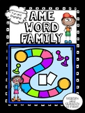 -ame Word Family words! - No Prep! Word Work!