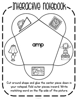 'amp' Word Family CVCC Word Work