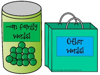 -an Word Family Activities