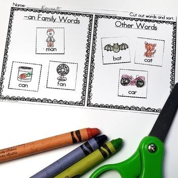 -an Word Family Fun!