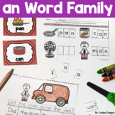 Word Family Fun! -an Family