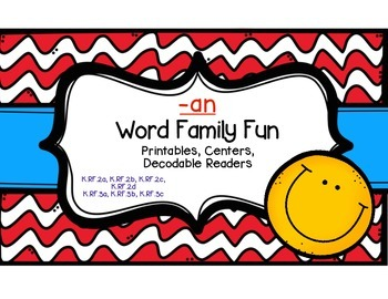 -an Word Family Fun
