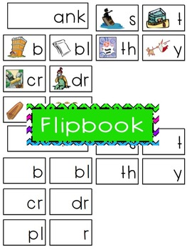 -ank Word Family Flipbook, Word Wall Cards and Data Tracking Sheets!